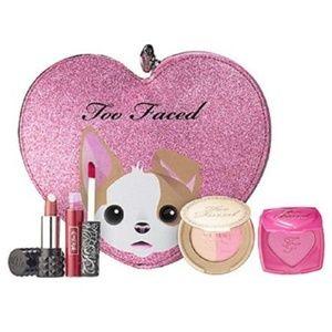 Too Faced Kat Von D Limited Edition Lip, Cheek Set